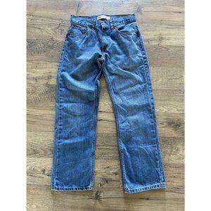LEVI'S 505 Regular Straight Fit Jeans 16 28x28